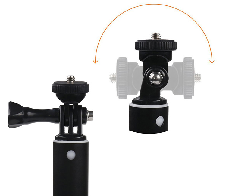 Регулювання камери в моноподе Apeman SS150