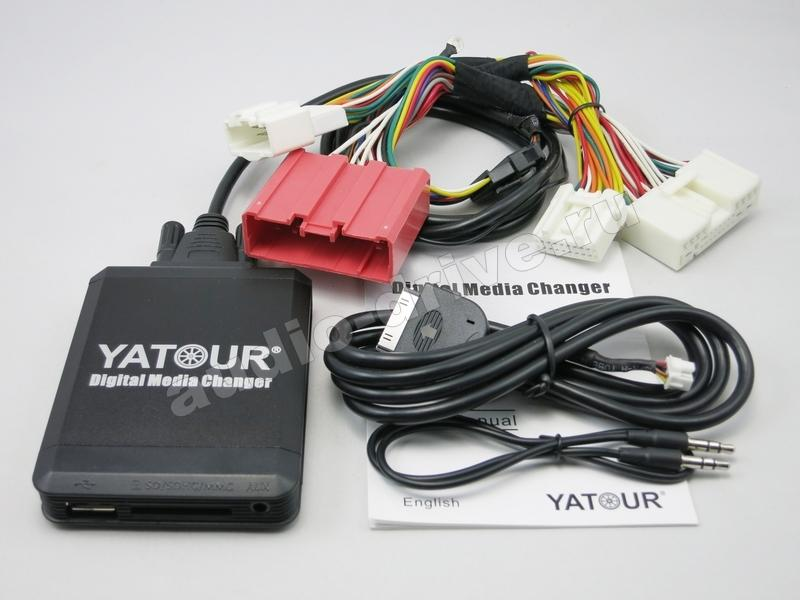 USB MP3/iPhone адаптер Yatour YT M07 для Mazda (MAZ2)