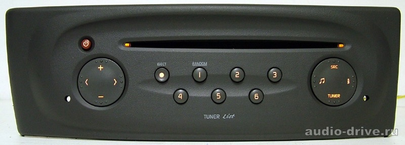 Renault 8pin Tuner List 8200l