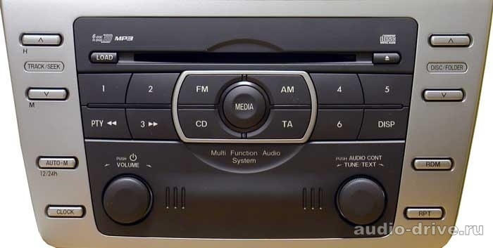mazda_Mazda-6(1-disc_CD-player)_YTM06-MAZ1