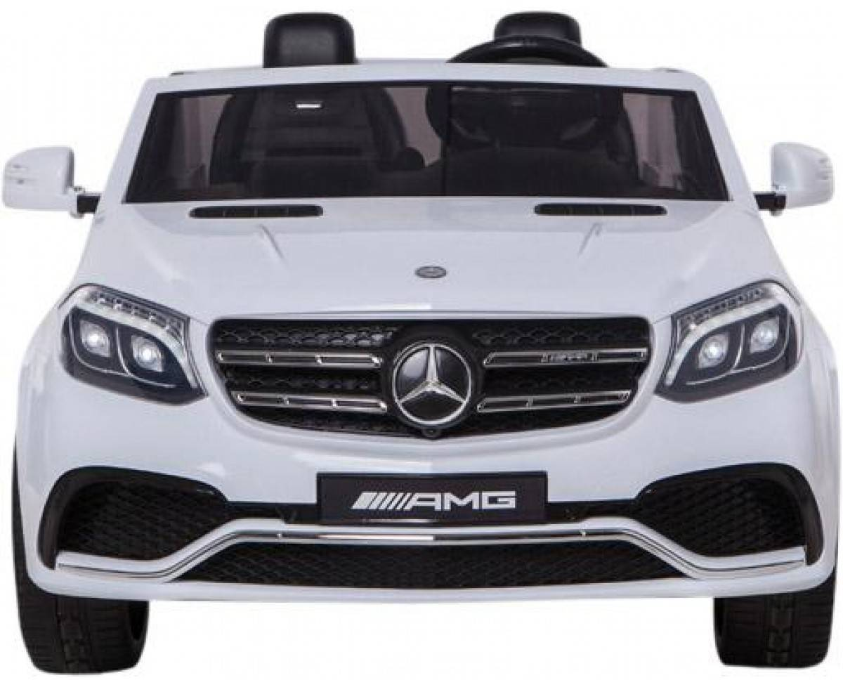 Детский электромобиль Harley Bella Mercedes Benz GLS63 LUXURY 4WD 12V MP4 - White - HL228-LUX-MP4