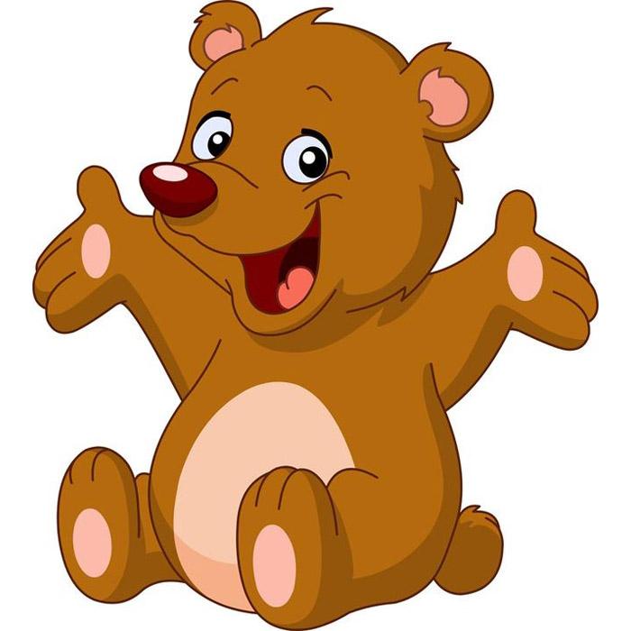 Картинка медведя для малышей
