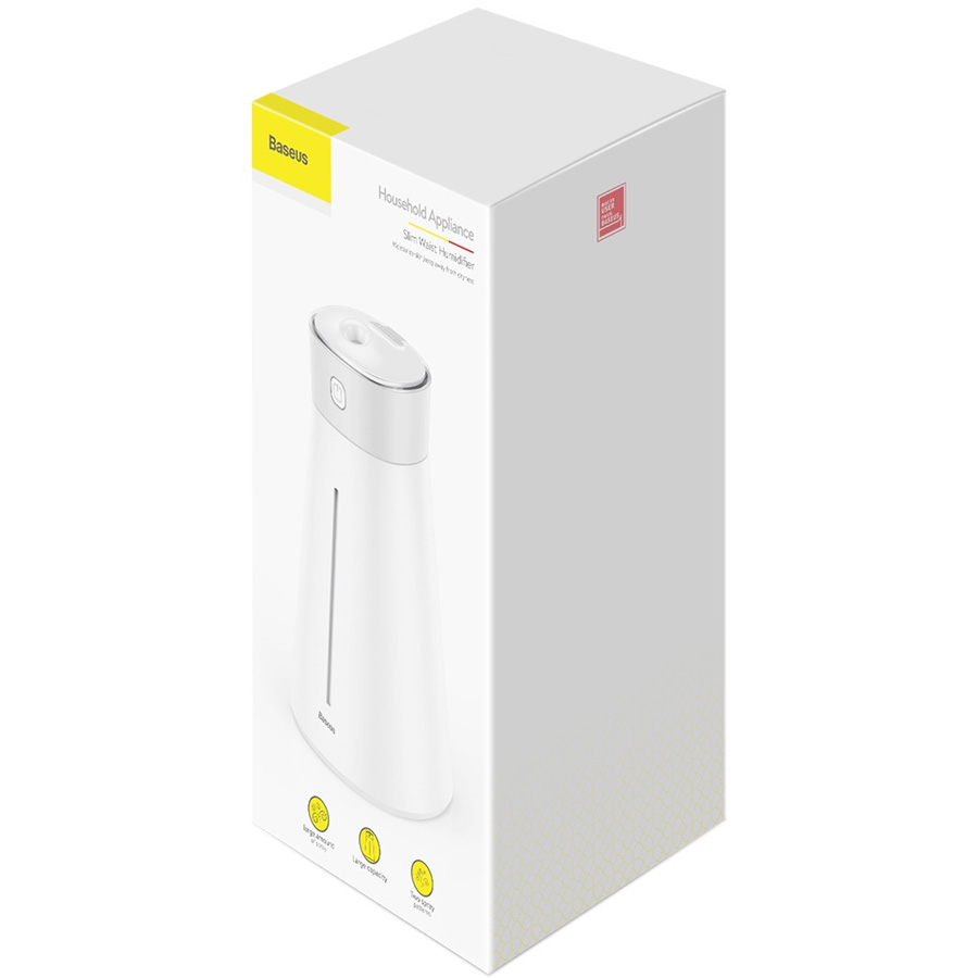Увлажнитель воздуха Baseus Slim Waist Humidifier Lamp And Fan - Белый (DHMY-B02)