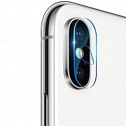 Защитное стекло для камеры iPhone X/XS/XS Max Baseus Camera Lens Glass Film (SGAPIPH65-JT02)