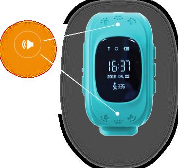 Детские часы GPS встроенный телефон