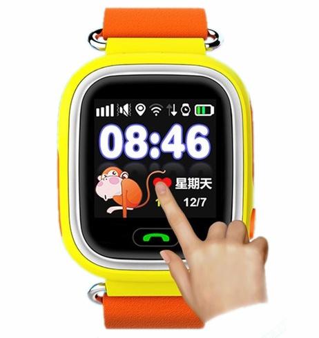 Сенсорный экран детских часов Q90